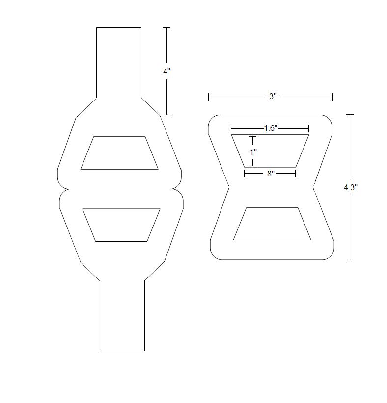 Bracelet's blueprint
